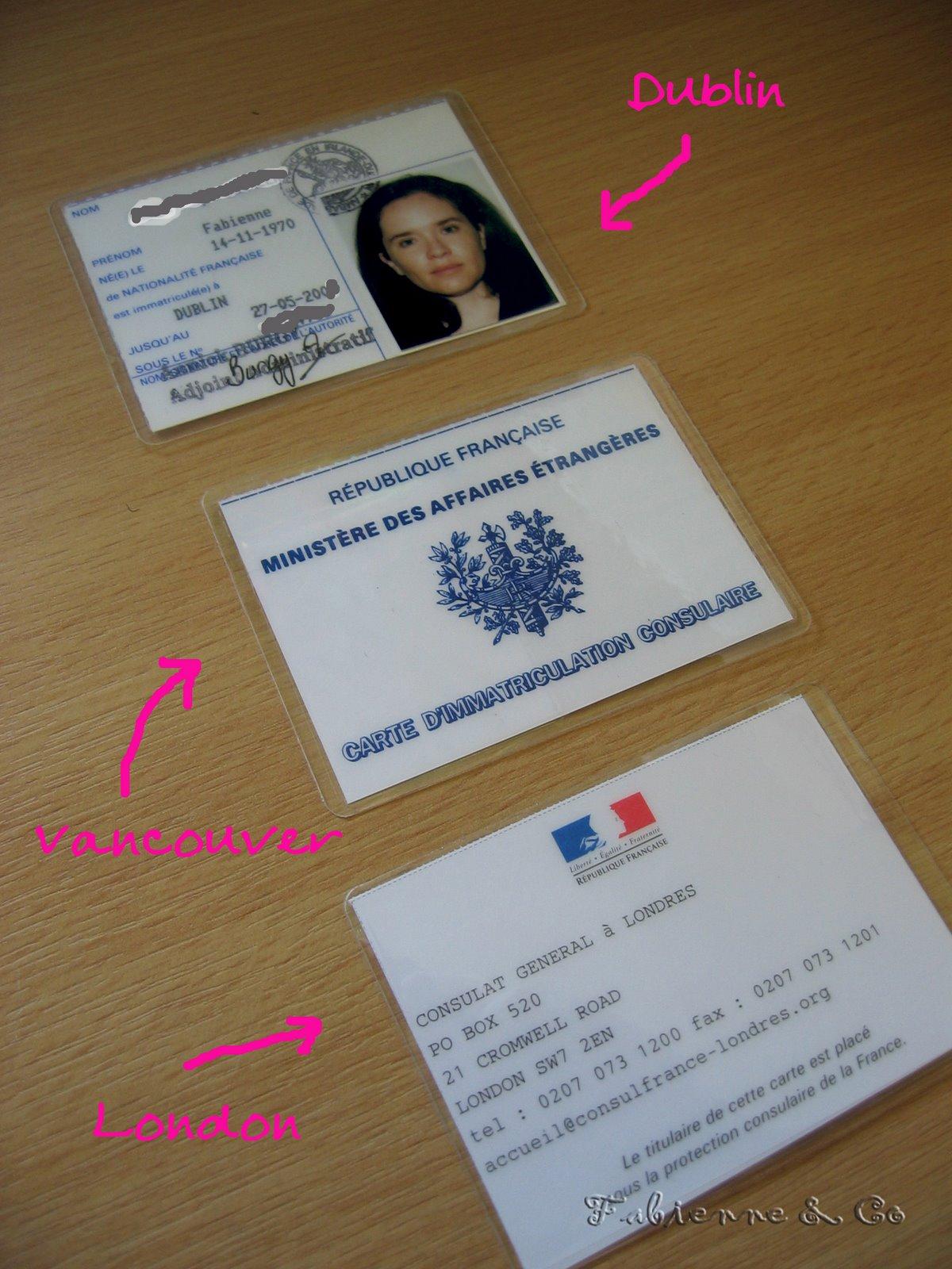 carte d immatriculation consulaire Et pendant ce temps là… – Lost in London