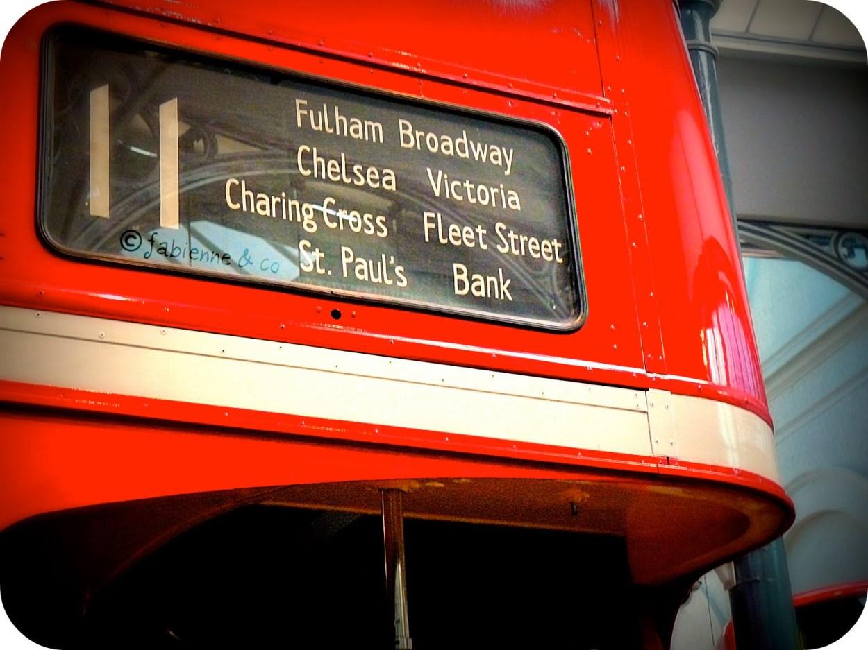 Le bus 11: un bon moyen pour découvrir Londres