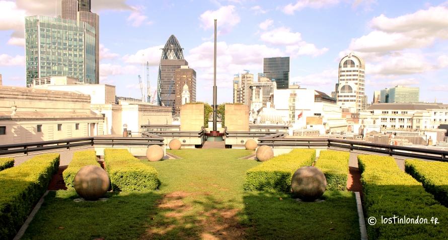 rooftop garden london