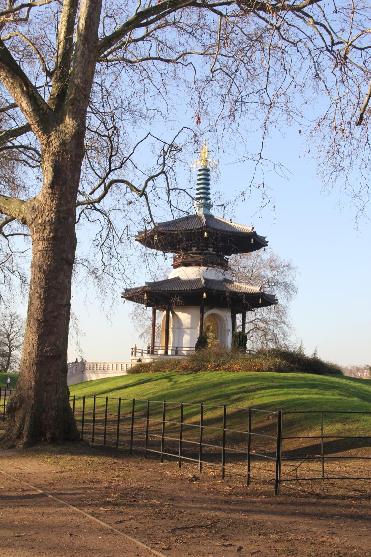 peace pagoda battersea park