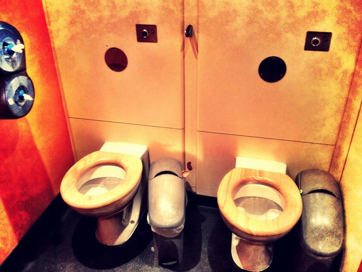 double toilets