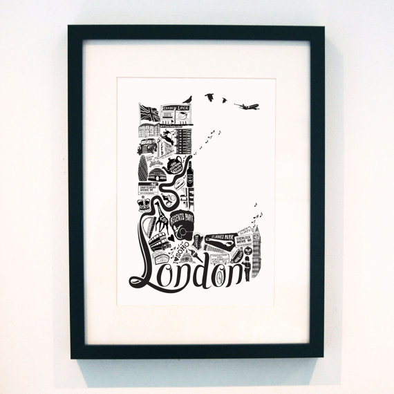 london print artwork Lucy Loves This