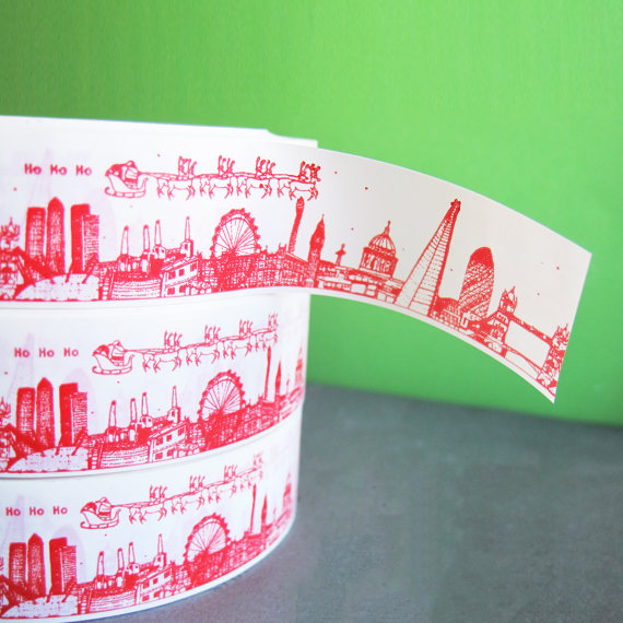london skyline tape