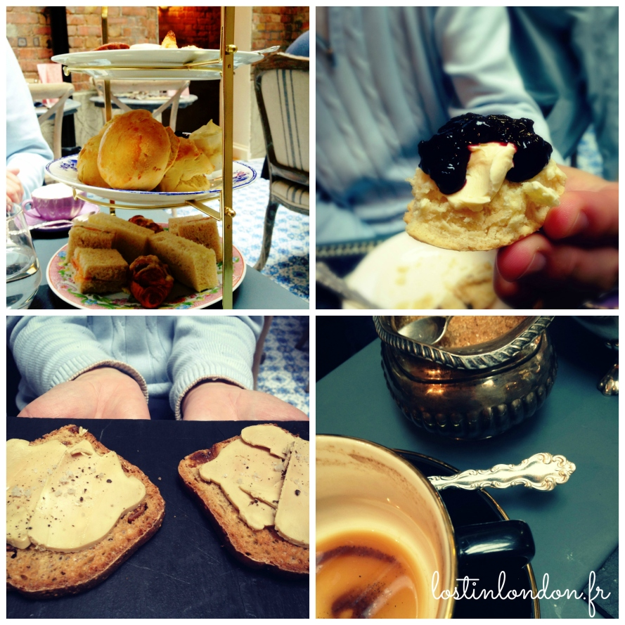 afternoon tea au Vieux Comptoir