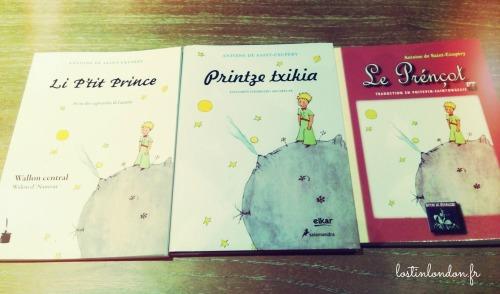 petit prince éditions étrangères
