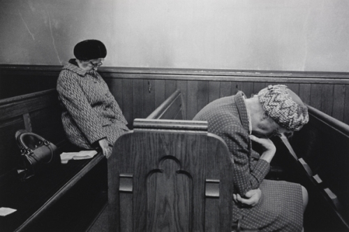 martin parr church sleepy grannies
