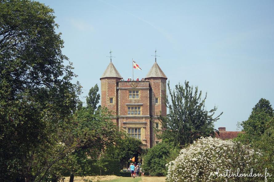 sissinghurst garden castle kent england