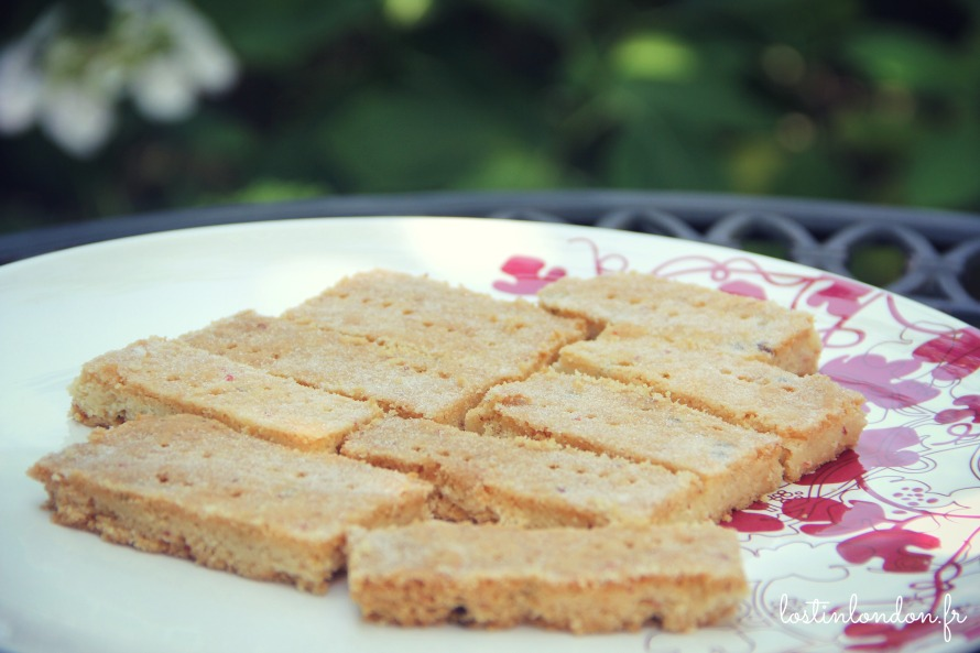 pink peppercorn shortbread poivre rose