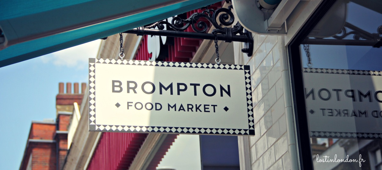 Brompton Food Market south kensington london
