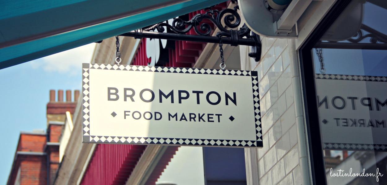 Brompton Food Market south kensington london