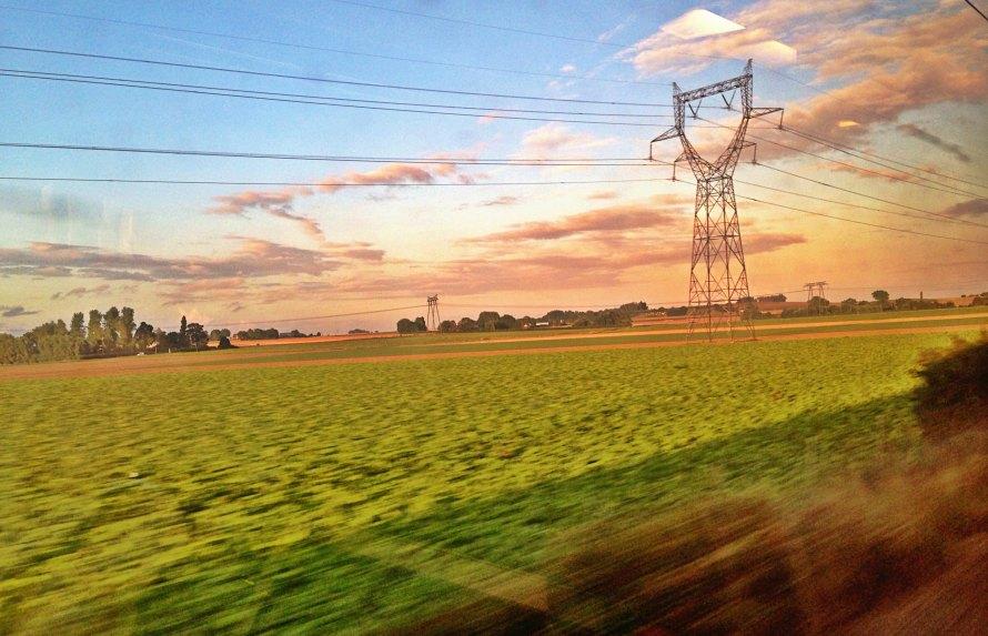 eurostar, train, ride, voyage, paris, london