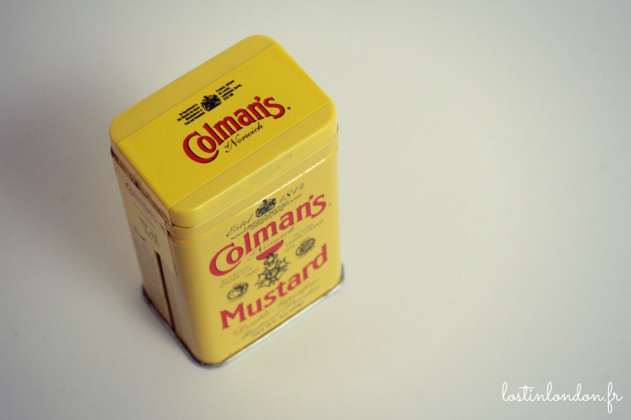Colman's mustard moutarde anglaise