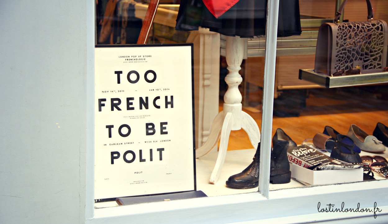 too french to be polite