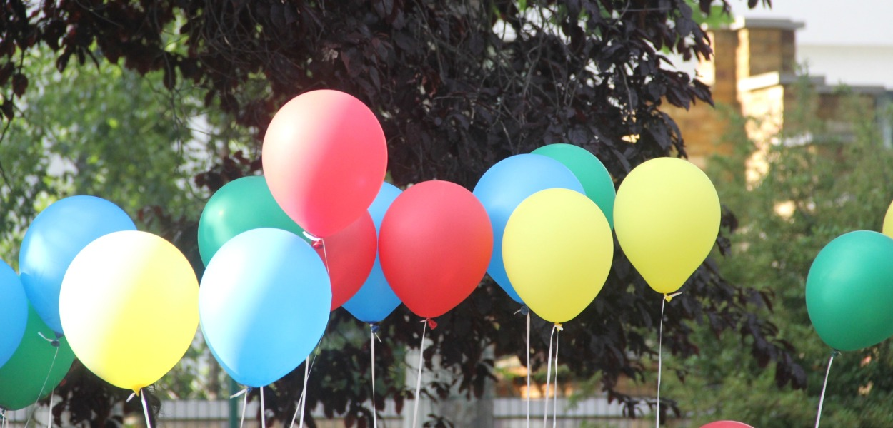 ballons colours