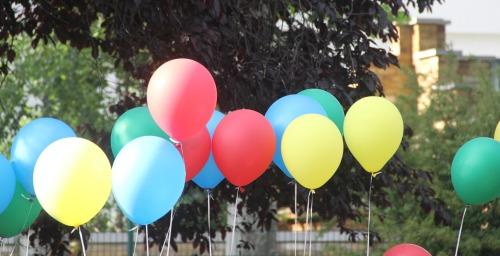 ballons colours