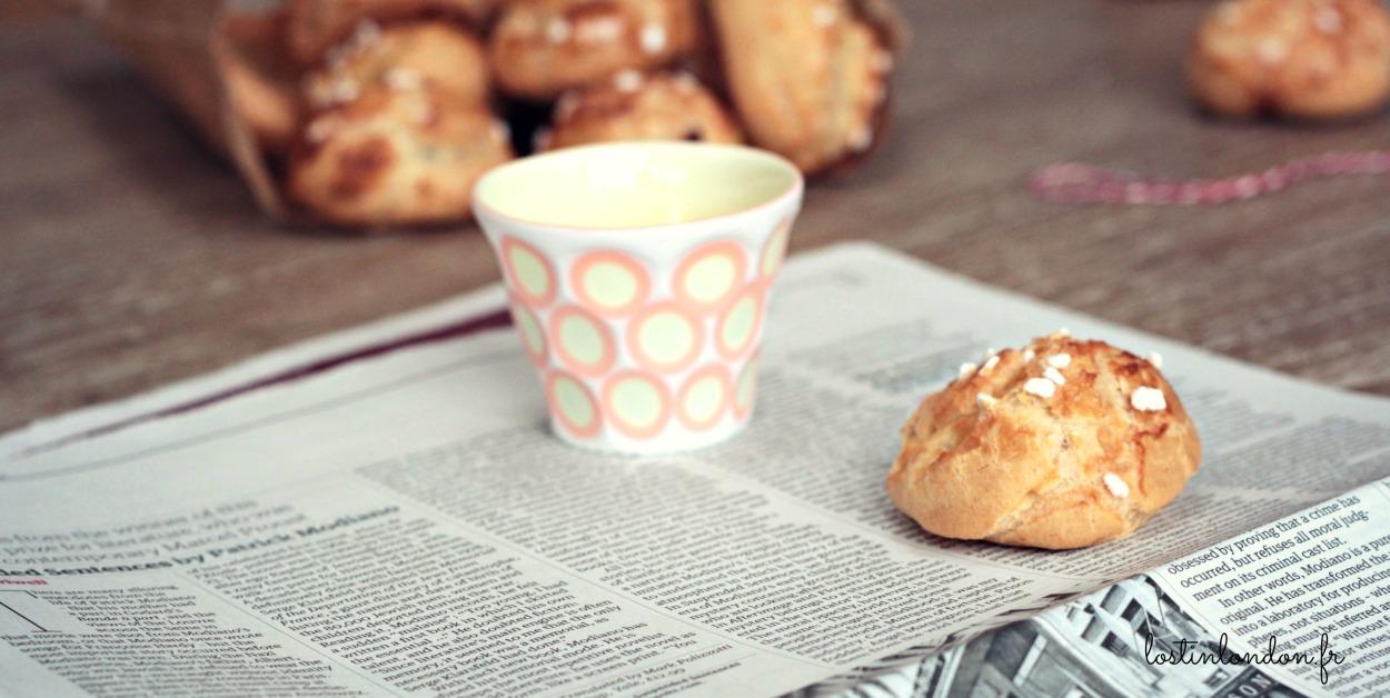 chouquettes recette