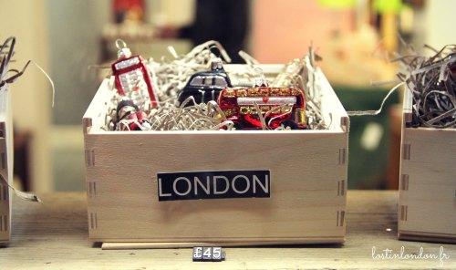 London Christmas decorations