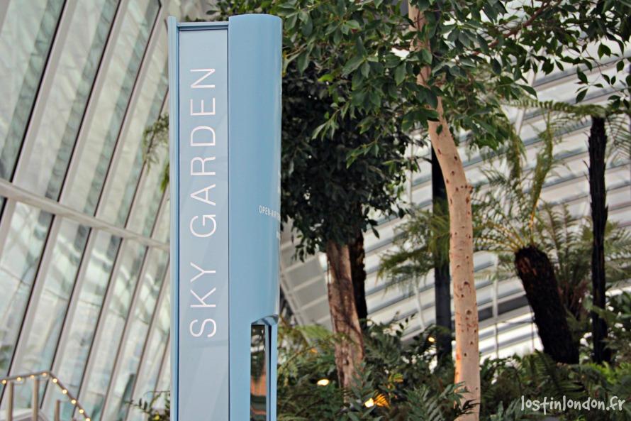 Sky Garden londres london