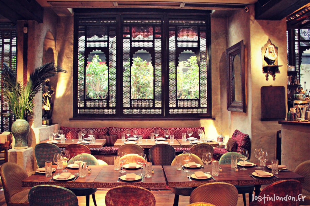 Momo London restaurant