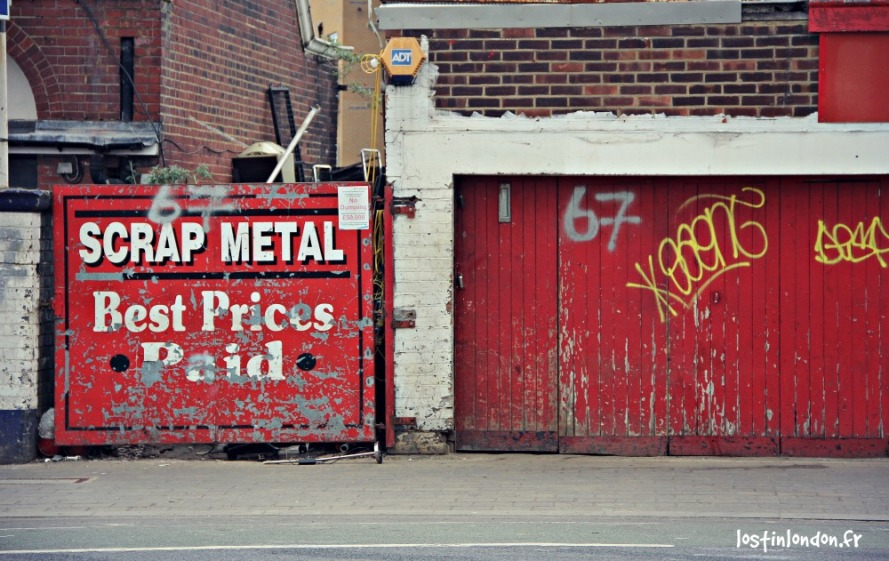 scrap metal London Arsenal