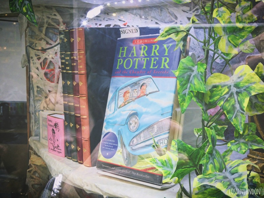 signed harry potter book
