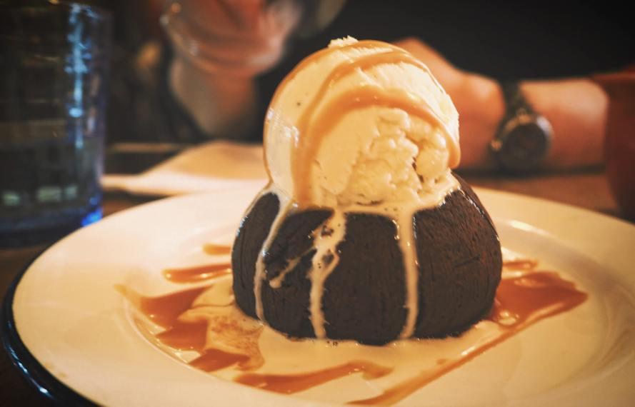fondant au chocolat La Bordelaise